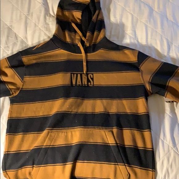 5f45c758c1 Vans Tall Box Stripe hoodie NWT